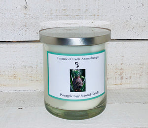 Pineapple Sage Soy Wax Scented Candle