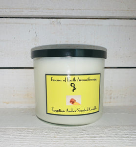 3 Wick Egyptian Amber Soy Wax Scented Candle