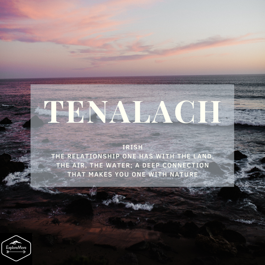 Tenalach and Our Connection With Water