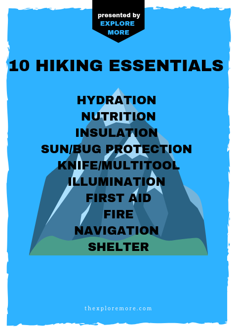 10 Hiking Essentials