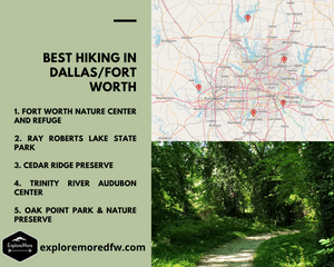Best Hiking Near Dallas Part 1