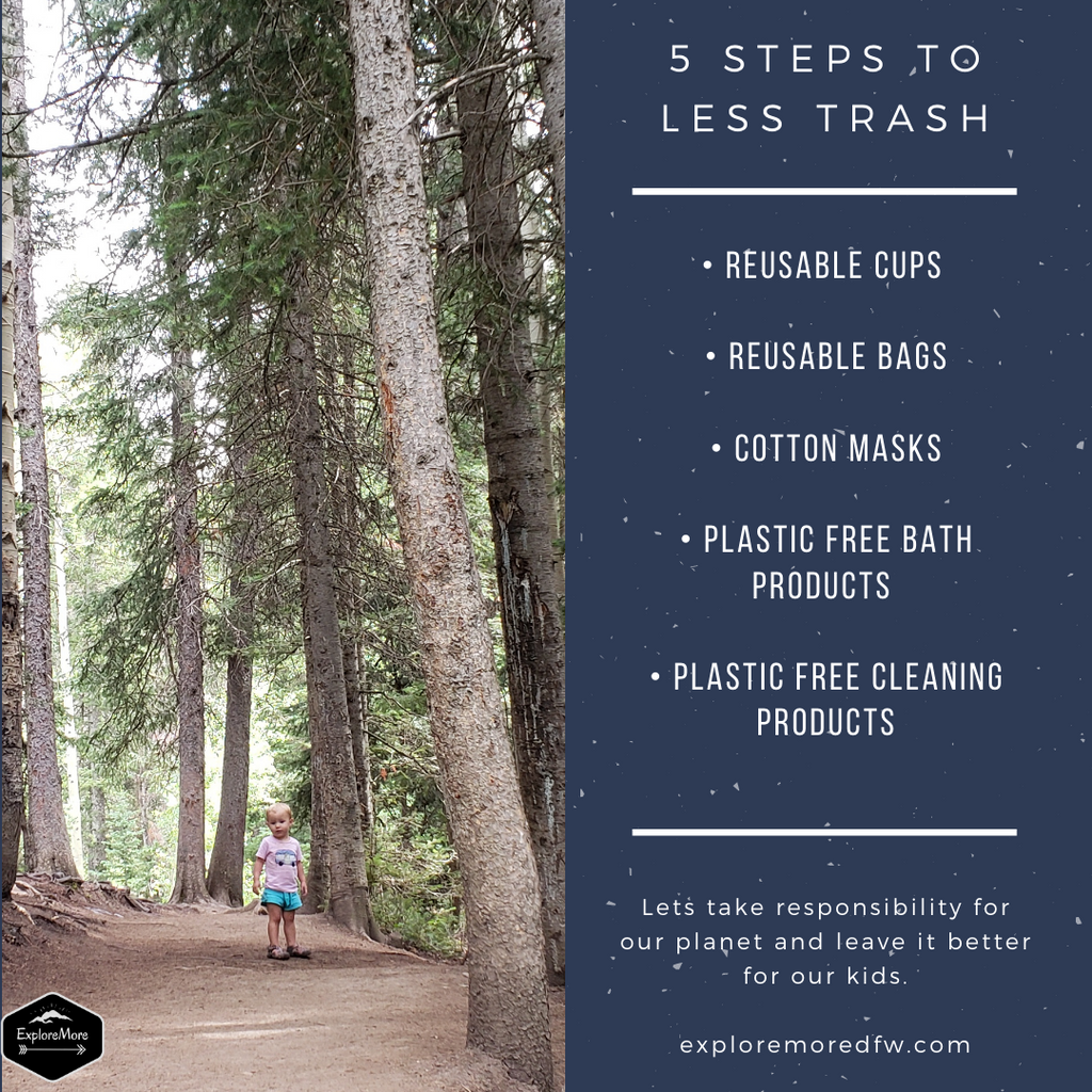 5 Easy Steps to Using Less Trash