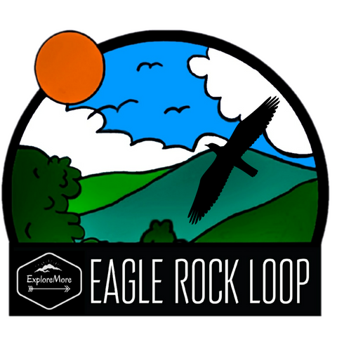 ExploreMore Eagle Rock Loop Sticker
