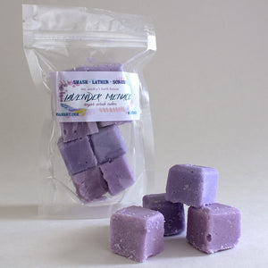 Lavender Menace Sugar Scrub Cubes