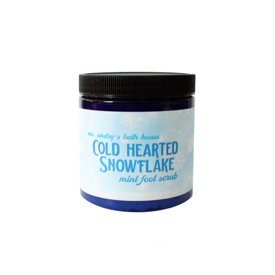 Cold Hearted Snowflake Foot Scrub