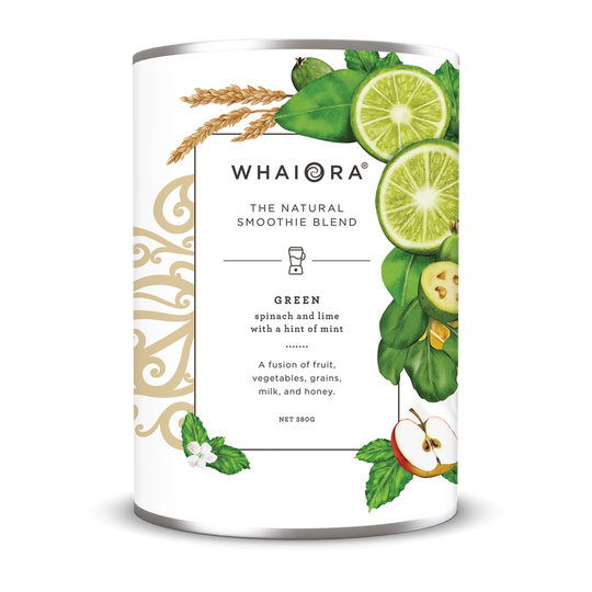 Whaiora Smoothie Blend Packaging