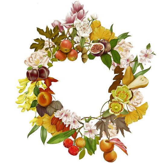 Fleming's Nursery 100 Year Anniversary Wreath