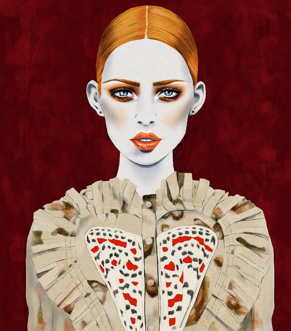Urban Walkabout fashion illustration by Melbourne based illustrator Kelly Thompson