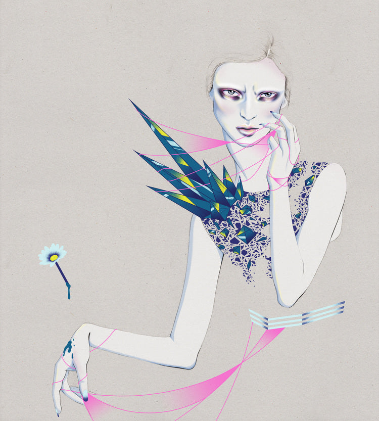 Melbourne fashion and beauty illustrator Kelly Thompson