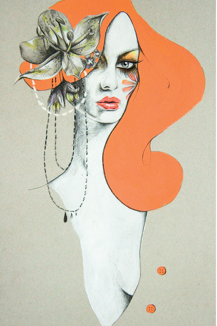 Fashion illustration by Melbourne illustrator Kelly Thompson