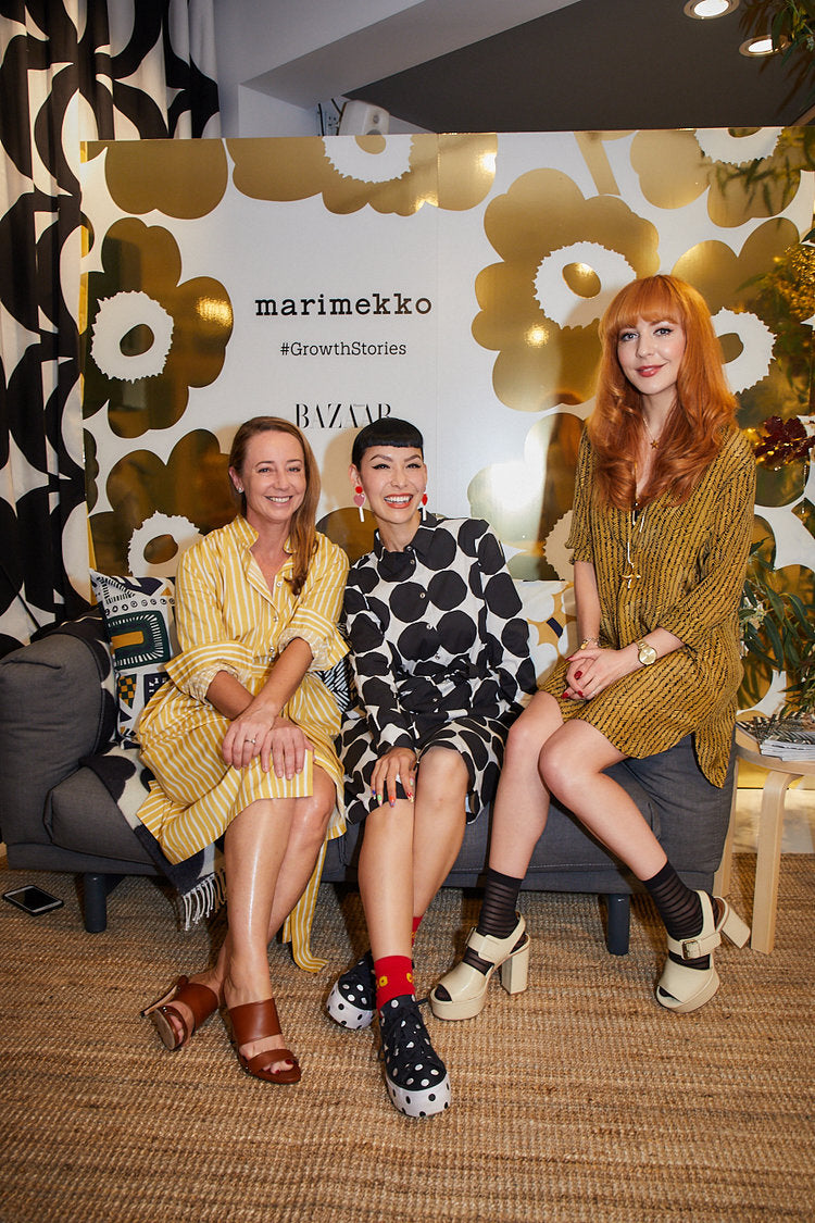 Illustrator and keynote speaker Kelly Thompson for Marimekko Sydney