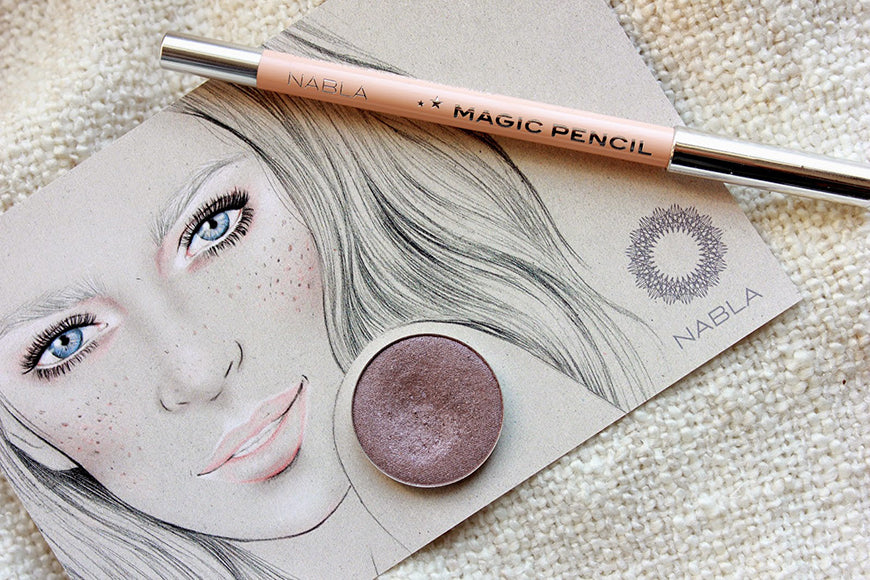 Melbourne Beauty Illustrator Kelly Thompson for Nabla Cosmetics