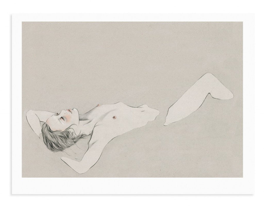 Kelly Thompson Illustrator nude pencil drawing Derek henderson Zippora seven Melbourne artist