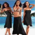 4-in-1 Strapless Beach Dress - Assorted Colors (Shipped from USA) - Attract Wear