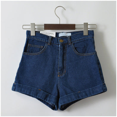 Vintage Cuffed Jeans Shorts - Attract Wear