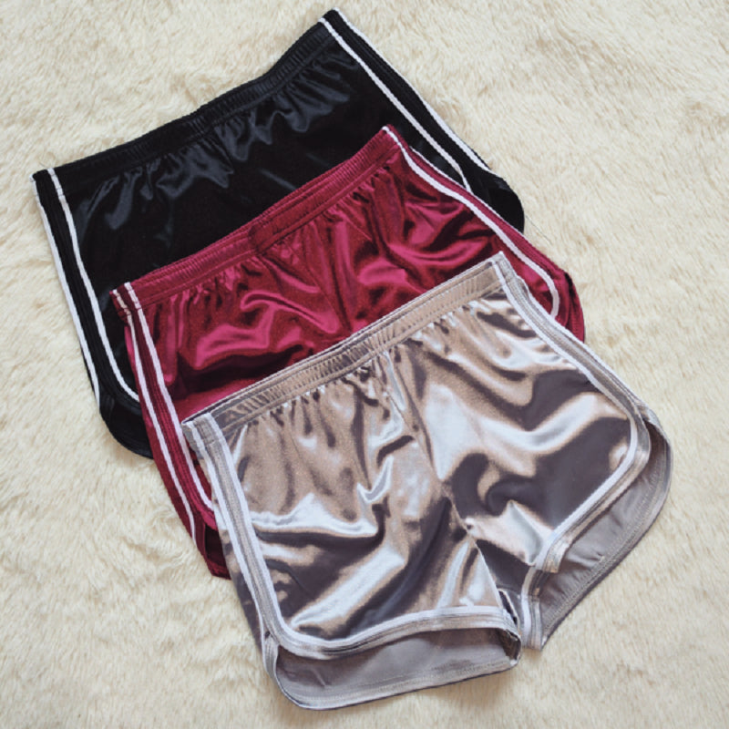 Silk Slim Beach Casual Shorts - Attract Wear