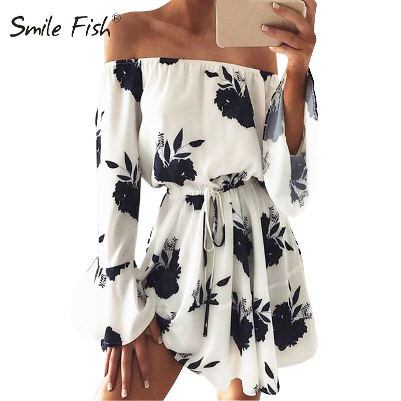 2018 New Summer Playsuit Women Kimono Chiffon Boho Floral Playsuit - Attract Wear