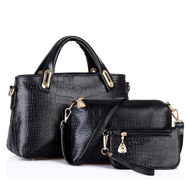 3 Sets Women Handbag Shoulder Bags - Attract Wear