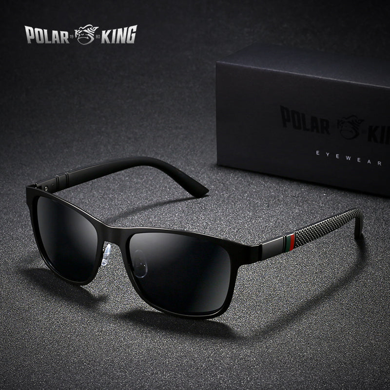 POLARKING Brand Metal Designer Polarized Sunglasses - Attract Wear