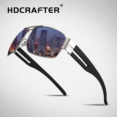 HDCRAFTER Brand Unisex Retro Aluminum Polarized Lens Sunglasses - Attract Wear LLC