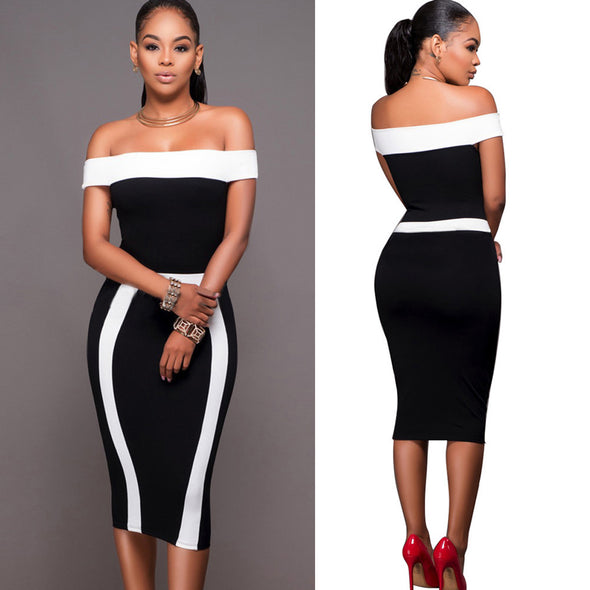 Women Bandage Bodycon Sleeveless Evening Sexy Party Cocktail Pencil Mini Dress - Attract Wear