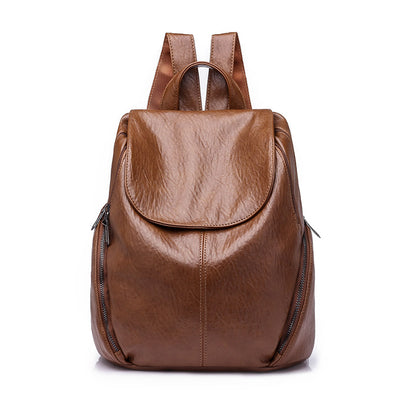 Women Leisure Rucksack PU Leather Vintage Bags