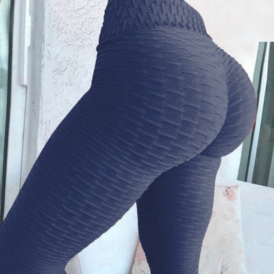 Sexy Women High Elastic Fitness Sport Leggings - Attract Wear