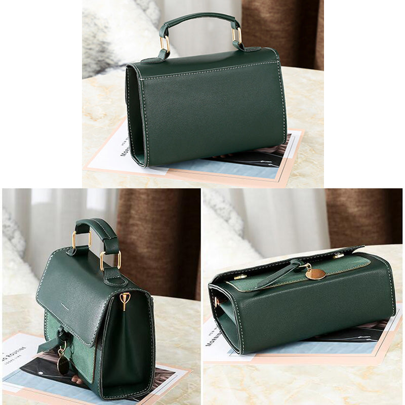 New High Quality PU Luxury Women Leather Handbag - Attract Wear