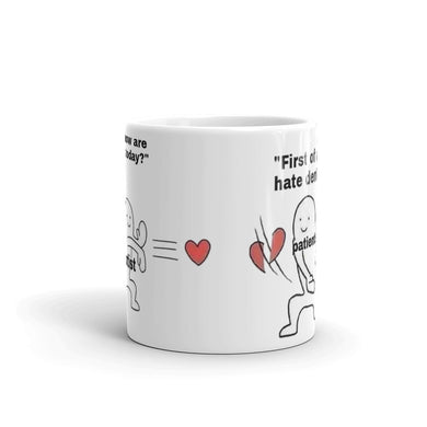 Patients and Dentists Joke Gift Mug - Carious Tees