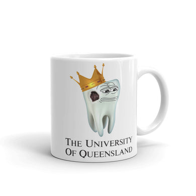 University of Queensland Dental School Gift Mug - Carious Tees