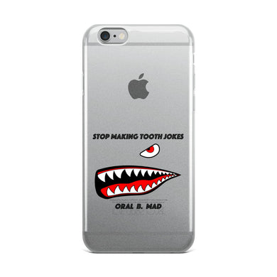 Angry Dentist Joke iPhone Case - Carious Tees
