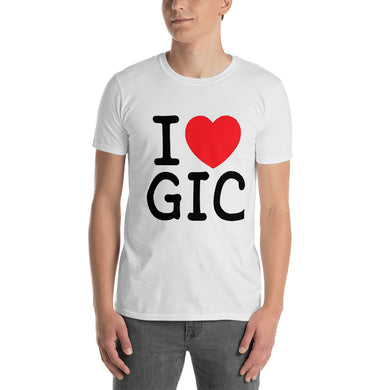 I Love GIC Dentist Gift T-Shirt - Carious Tees