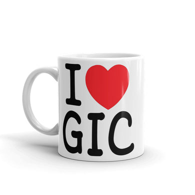 'I Love GIC' Gift Mug for Dentists - Carious Tees