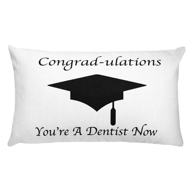 Dentist Graduation Gift Pillow - Carious Tees