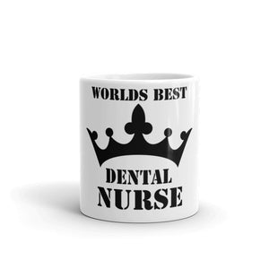 Worlds Best Dental Nurse Gift Mug - Carious Tees