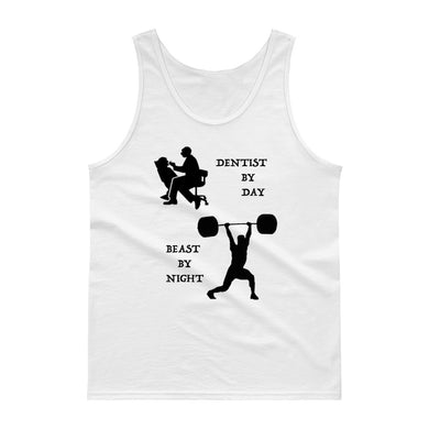 Beast by Night Dentist Gym Tank Top - Carious Tees