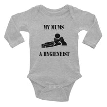 My Mums A Hygienist Baby Bodysuit - Carious Tees