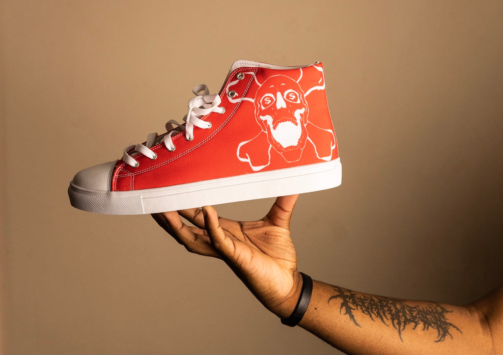 Red L.A.M.P. Shoes