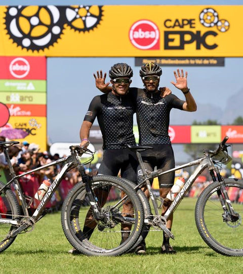 Team Signal Conquer the Cape Epic