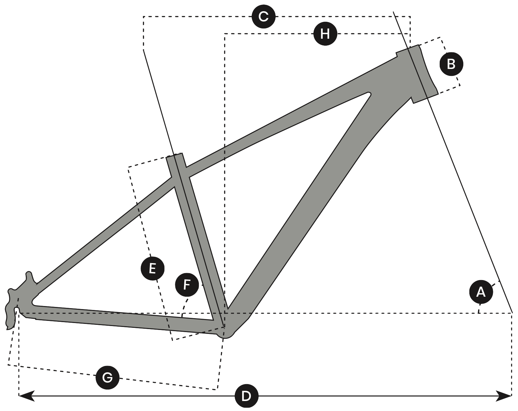 Signal Bikes Geometry Diagram