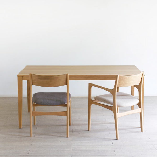 WE LOVE HOMES New Piazza Table 白橡木/胡桃木桌子