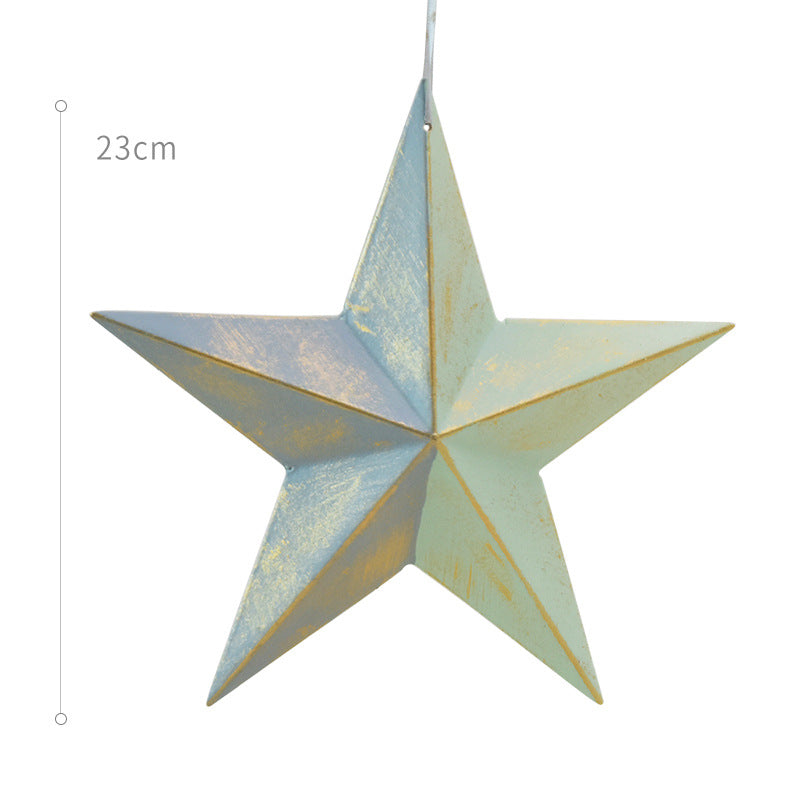 香港送貨|Delivery to HK | 粉色聖誕樹星星掛飾 Star Christmas Tree Ornaments(兩件裝) | Homie Living 最愛 |Homie Living Mall 香港家居靈感購物