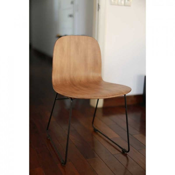WE LOVE HOMES Carino Chair 胡桃木飾面椅子