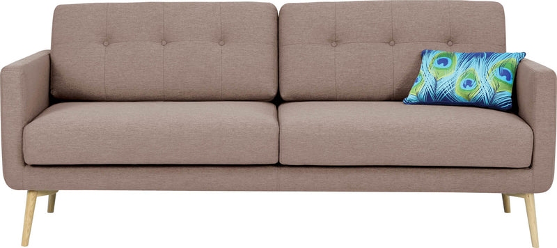 香港送貨|Delivery to HK | Kuulua Selma 3 SEATER SOFA 梳化, 暗粉紅色 | Kuulua |Homie Living Mall 香港家居靈感購物
