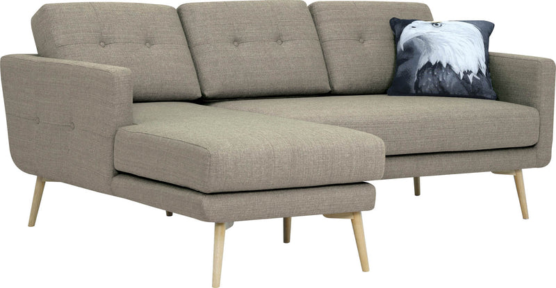 香港送貨|Delivery to HK | Kuulua Selma 3 SEATER SOFA 梳化, 淺灰色 配躺椅 | Kuulua |Homie Living Mall 香港家居靈感購物