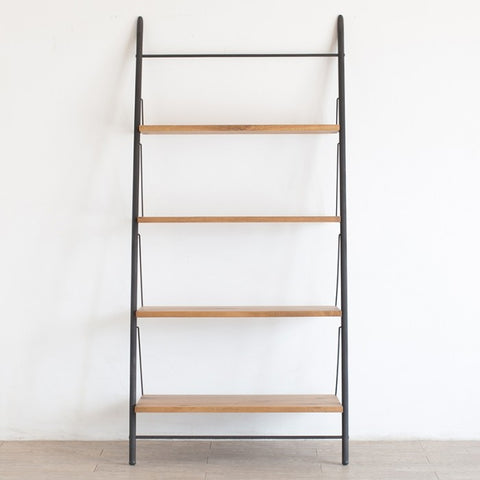 WE LOVE HOMES Ladder Shelf 白橡木鐵框梯架