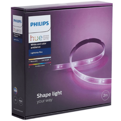 【限時2週】PHILIPS HUE LIGHTSTRIP PLUS 智能燈帶2M + BRIDGE 橋接器入門套裝
