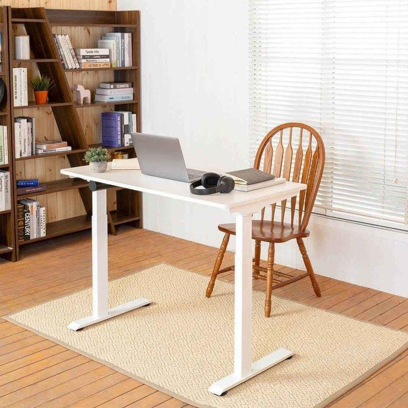 香港送貨|Delivery to HK | Home Made Single Motor Electronic Adjustable Desk(Black/White) 單摩打升降枱 黑色/白色 | Home Made |Homie Living Mall 香港家居靈感購物