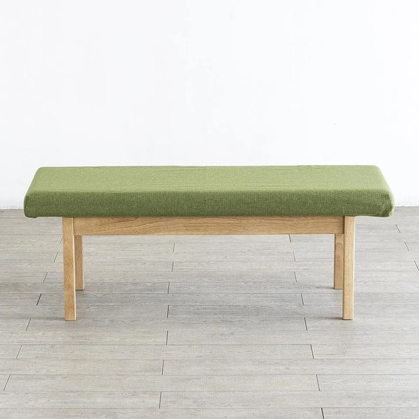 WE LOVE HOMES Vert Sofa Bench 布藝橡木長凳