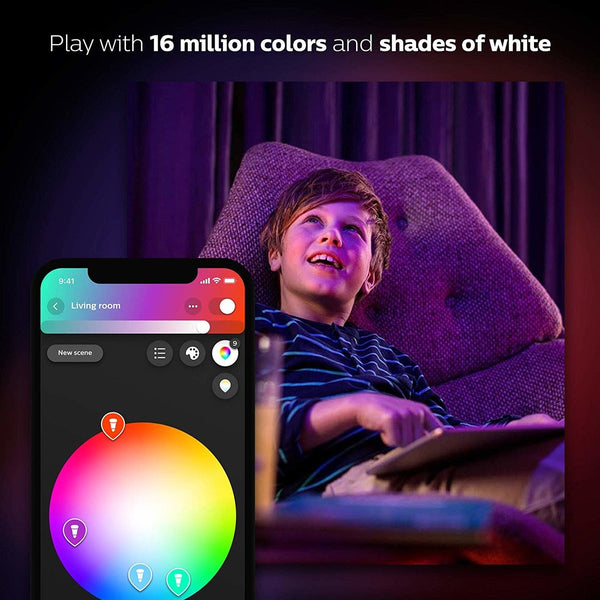 Philips 飛利浦 Hue White and Colour Ambiance 白色及彩光智能燈泡 6.5W  E14細螺頭 B39
